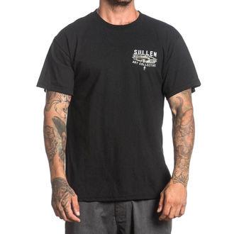 tricou hardcore bărbați - WEST SIDE MERC - SULLEN - SCM1010_BK