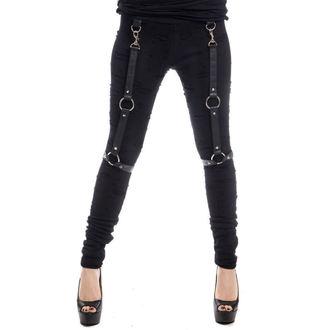 Pantaloni femei (colanți) Vixxsin - HIRO - NEGRU, VIXXSIN