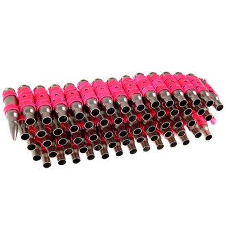 Curea Silver & Fluorescent - Pink Metal Bullet