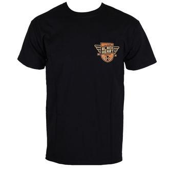 tricou de stradă bărbați - FINISHER BIKE - BLACK HEART, BLACK HEART