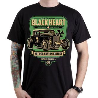 tricou de stradă bărbați - UNITED - BLACK HEART, BLACK HEART