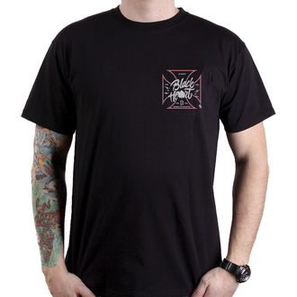 tricou de stradă bărbați - RED ROD PICK UP - BLACK HEART, BLACK HEART