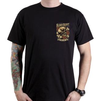 tricou de stradă bărbați - GAMBLE - BLACK HEART, BLACK HEART