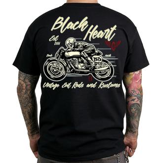 tricou de stradă bărbați - VINTAGE EVIL - BLACK HEART, BLACK HEART