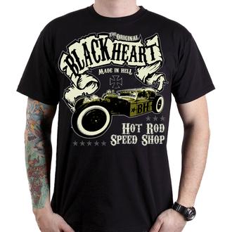 tricou de stradă bărbați - BANDIT - BLACK HEART, BLACK HEART