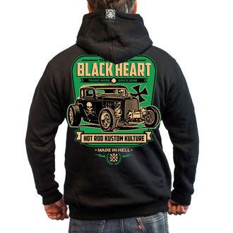 hanorac cu glugă bărbați - UNITED - BLACK HEART, BLACK HEART