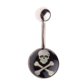 pătrunzător bijuterie Craniu - L-025