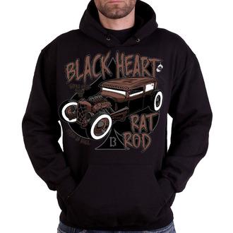 hanorac cu glugă bărbați - RAT TRAP - BLACK HEART, BLACK HEART