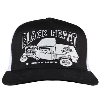 Şapcă BLACK HEART - PICK UP MARK - WHITE, BLACK HEART