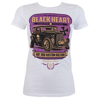 tricou de stradă femei - UNITED - BLACK HEART, BLACK HEART