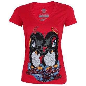 tricou de stradă femei - PINGUIN - BLACK HEART, BLACK HEART