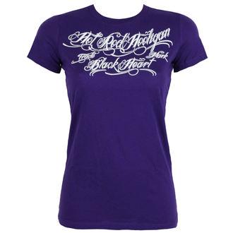 tricou de stradă femei - HOT ROD - BLACK HEART, BLACK HEART