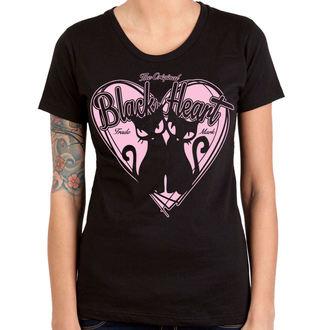 tricou de stradă femei - PUSSY CATS - BLACK HEART, BLACK HEART