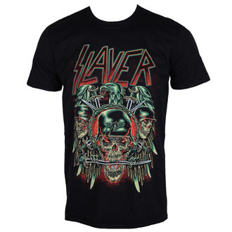 tricou stil metal bărbați Slayer - Prey with Background - ROCK OFF - SLAYTEE40MB