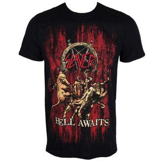 tricou stil metal bărbați Slayer - Hell Awaits - ROCK OFF