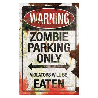Decoraţiune (semne) Zombie Parking