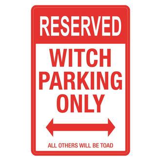 Decoraţiune (semne) Witch Parking