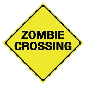 Semne Zombie Crossing