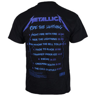 tricou stil metal bărbați Metallica - Ride The Lightening -, Metallica