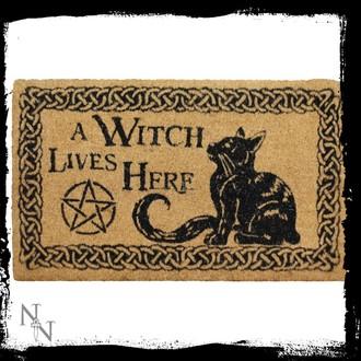 Ştergător picioare A Witch Lives Here