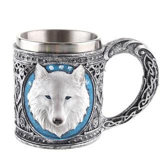 Cană (stacană) Ghost Wolf