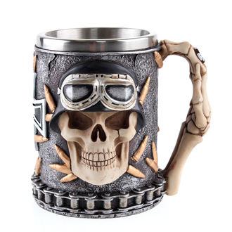 Cană (stacană) Iron Cross Skull
