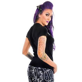tricou stil gotic și punk femei - HAUNTED HOUSE - TOO FAST, TOO FAST