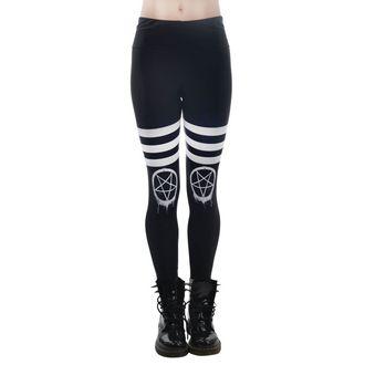 Pantaloni femei (colanți) TOO FAST - DRIPPY PENTAGRAM, TOO FAST