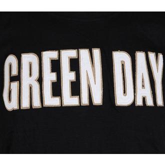 tricou stil metal bărbați Green Day - Logo & Grenade Applique Slub - ROCK OFF, ROCK OFF, Green Day