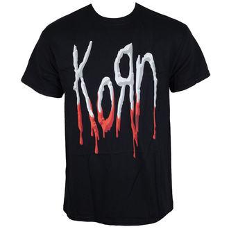 tricou stil metal bărbați Korn - Bloody Logo -, Korn