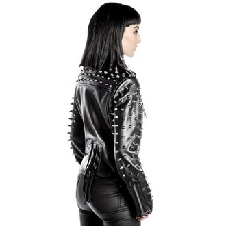 geacă de piele femei - Billie - KILLSTAR, KILLSTAR