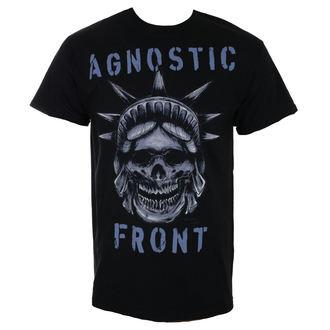 tricou stil metal bărbați Agnostic Front - STATUE SKULL - RAGEWEAR, RAGEWEAR, Agnostic Front