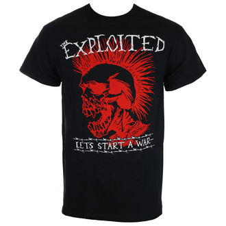 tricou stil metal bărbați Exploited - LET'S START A WAR - RAGEWEAR, RAGEWEAR, Exploited