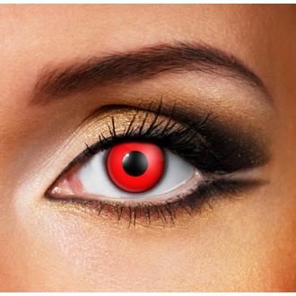 Set lentile de contact  DEVIL RED - EDIT - 81533