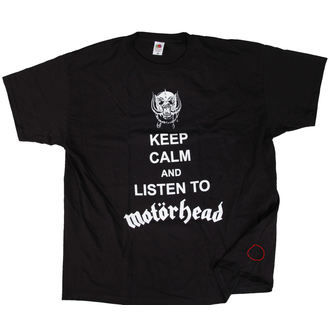tricou stil metal bărbați Motörhead - Keep Calm - ROCK OFF, ROCK OFF, Motörhead