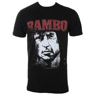 Tricou bărbați RAMBO - Red&White, AMERICAN CLASSICS