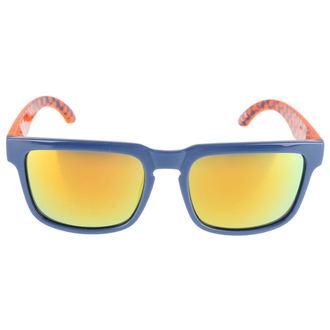 Ochelari soare Meatfly - Rush B – Blue Orange, MEATFLY