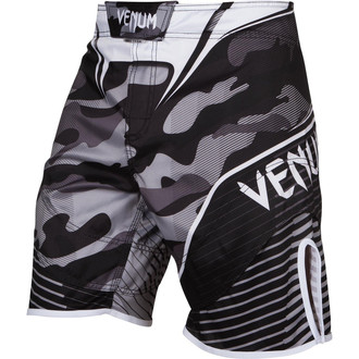 Pantaloni scurți de box  Venum - Camo Hero - White / Black, VENUM