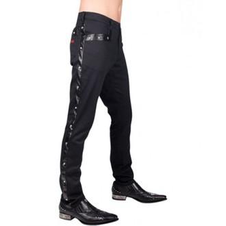 pantaloni bărbați Aderlass - Vedeta rock Pantaloni dril (Negru), ADERLASS