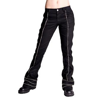 pantaloni Aderlass - Zip Hipster dril, ADERLASS