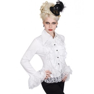 cămaşă femei Aderlass - riffle Bluză Amenda dril (alb), ADERLASS