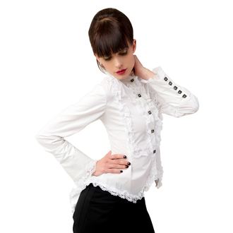 bluză femei Aderlass - aripă Bluză Amenda dril alb, ADERLASS