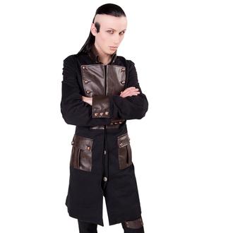 haină a bărbaţilor Aderlass - Aburi punk Haină dril Negru-maro, ADERLASS