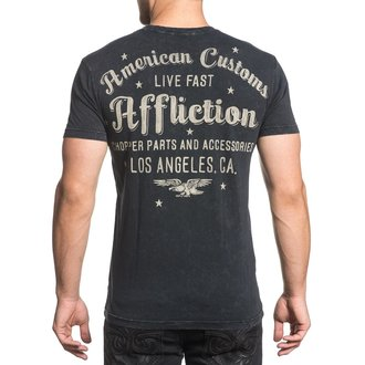 tricou hardcore bărbați - AC Vintage Dealer - AFFLICTION, AFFLICTION
