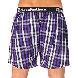 Boxeri pantaloni scurți bărbaţi HORSEFEATHERS - APOLLO - DEEP VIOLET, HORSEFEATHERS
