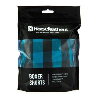 Boxeri pantaloni scurți bărbaţi HORSEFEATHERS - APOLLO - METHYL BLUE, HORSEFEATHERS