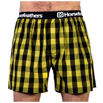 Boxeri pantaloni scurți bărbaţi HORSEFEATHERS - APOLLO -Citronella, HORSEFEATHERS