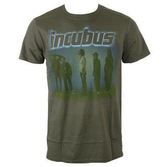 tricou stil metal bărbați Incubus - WASHOUT- OLIVE - BRAVADO, BRAVADO, Incubus
