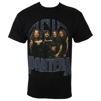 tricou stil metal bărbați Pantera - BLK - BRAVADO, BRAVADO, Pantera