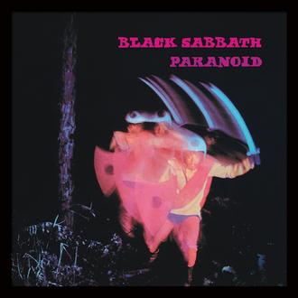 Poster înrămat  Black Sabbath (Paranoid) - PYRAMID POSTERS, PYRAMID POSTERS, Black Sabbath